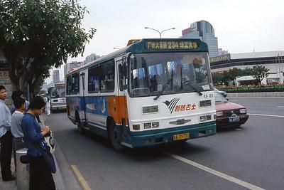 Guangzhou Bus A39732 Guangzhou Oct 00