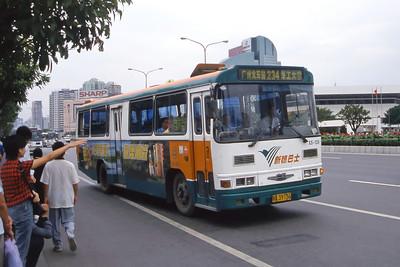 Guangzhou Bus A39736 Guangzhou Oct 00