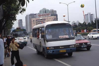 Guangzhou Bus A38319 Guangzhou Oct 00