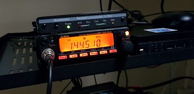 Alinco FM radios and Kantronics TNC