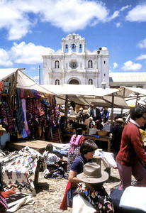 Marketplace in Chichicastenango.