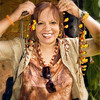 Leah in Bali...er...Guatemala.