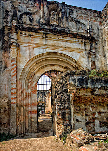 Ruins of the great Catedral.
