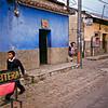 Street scene in Antigua.