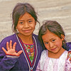 Sisters at a rest stop on our way to Lake Atitlan.