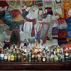 Bar mural.