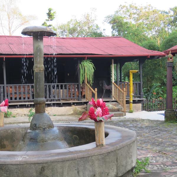 """""""Resort"""", near Takalik Abaj"""