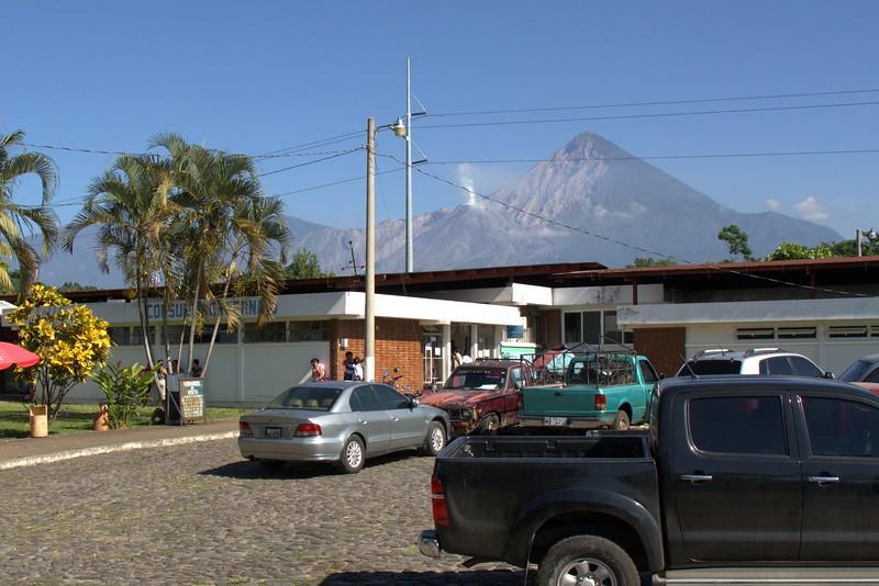hospital and volcano