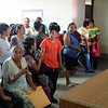 Patients waiting during clinic day