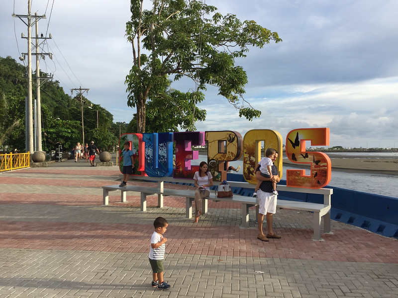 Short trip to close by town: Quepos