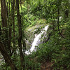 Rainy season in a rain forest = water falls