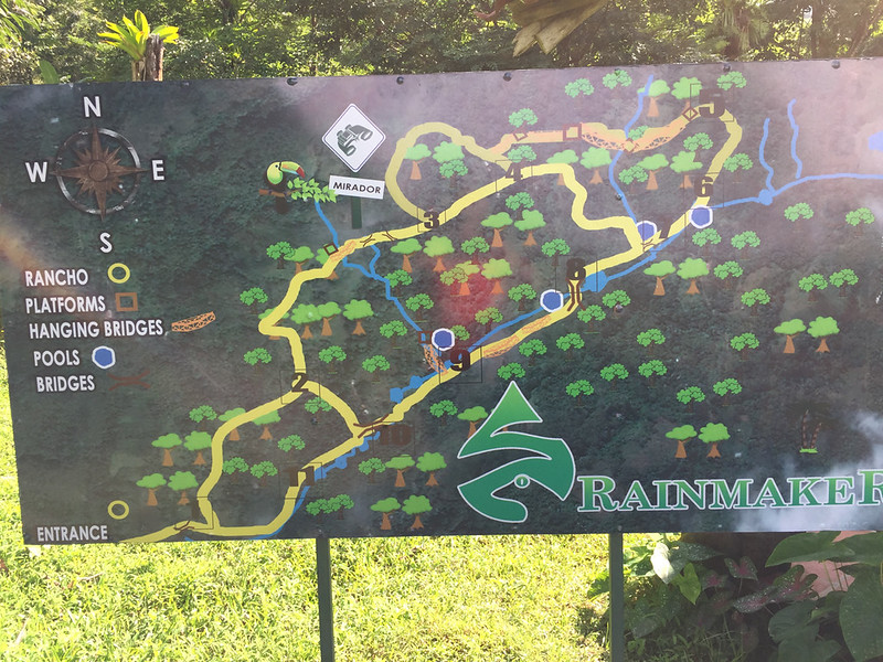 Tour Map: Took us a leisurely two hours to walk all the trails
