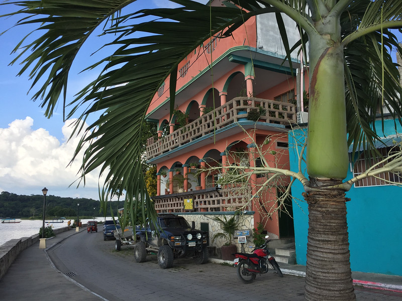 "Our hotel ""Lacandon"", named after a Mayan tribe of old"