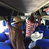 Fuente Del Norte bus - 4 hours in a packed bus with no A/C :-)
