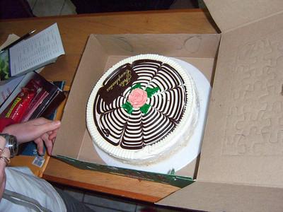 Fivi's Birthday cake