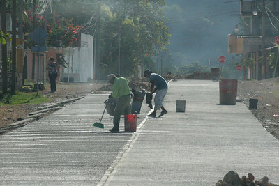 Guatemala's government has given an initiative for the mayors to stop stealing the money and is now paying the mayors (on top of their salary) 1 cent for every mile of road they pave.