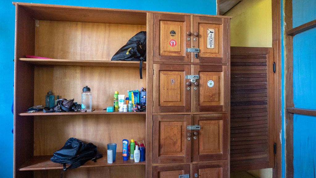 Volunteering with Animals in Guatemala: Volunteer house shelves at ARCAS
