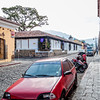 Streets and houses in Antigua, Guatemala