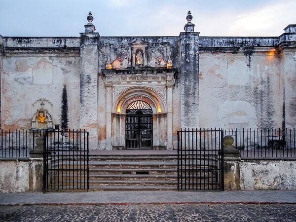 Building in Antigua, Guatemala