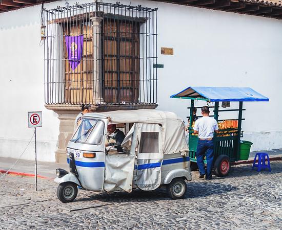 Tuk-Tuk taxi in Antigua Guatemala