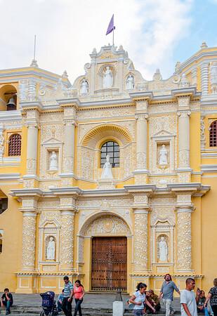 La Merced church in Antigua, Guatemala