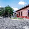 Street in Antigua Guatemala.