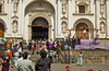 Semana Santa celebrations conducted at the San Jose Cathedral in Antigua, Guatemala, Central America.