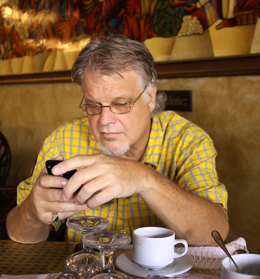 Woody and I share a sense of frustration over new cell phone technology.
