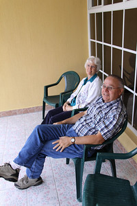 Our dear friends, Dennis and Doris Rice.  They took Vine International to new heights in Guatemala.  So many of the ministry leaders ask about them and miss them... 'cos they could speak Spanish.  And because they are down right genuine nice people (unless Dennis is behind the wheel and going head to head with a Guatemalan bus driver... )