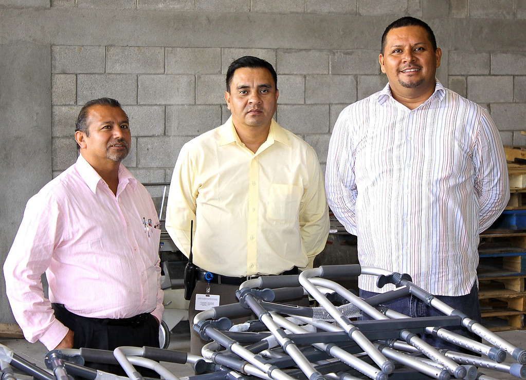 prison officials and Pastor Nacho.