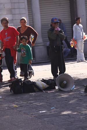 street comedian
