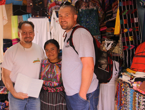 Billy and Max heard this lady singing and saw her writing.  She writes worship songs and leads worship in her church.