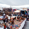 Vendors at the Chichicastenango market in Guatemala.