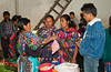 Shoppers at the indoor produce market in  Chichicastenango, Guatemala, Central America.