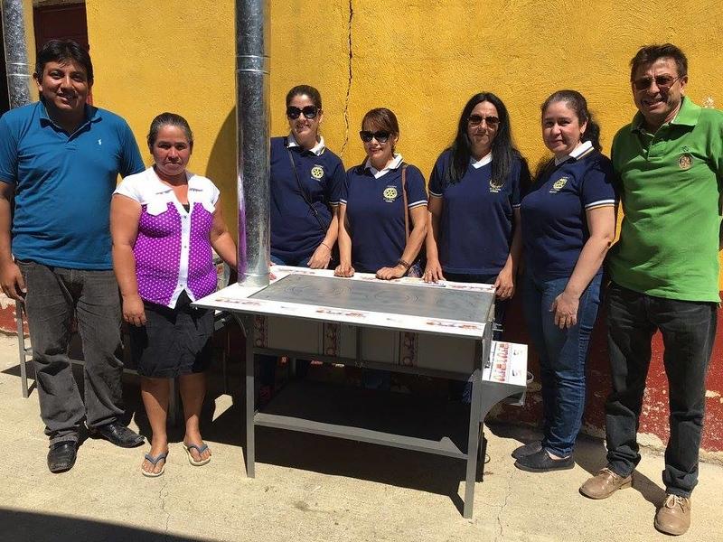 New stove El Poshte School