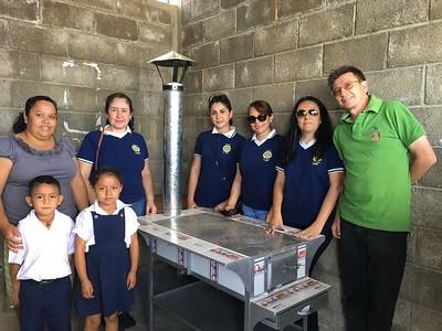 New stove La Catocha School