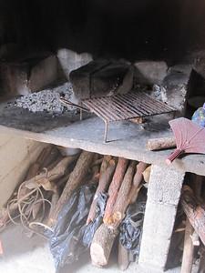 Old stove  El Poshte School