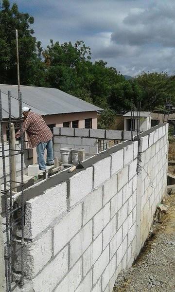 El Jurgallón School kitchen construction
