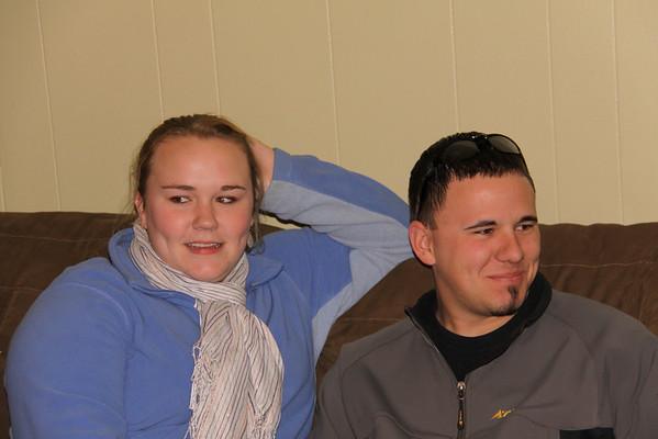 Peggy and Matt.  Nice young man Peg...