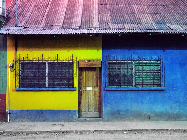 Building in Flores, Guatemala