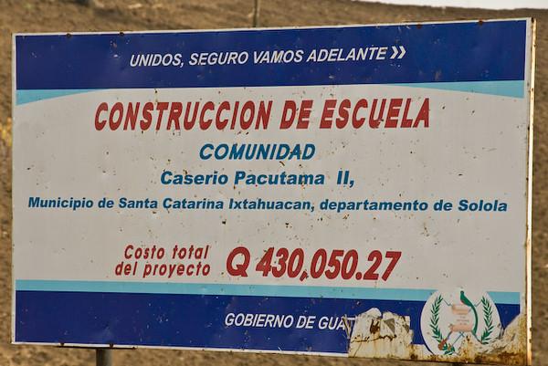 Pacutama II - former Refugee Camp, Western Highlands, Guatemala