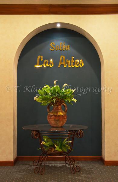 Interior decor at the Holiday Inn in Guatemala City, Guatemala, Central America.