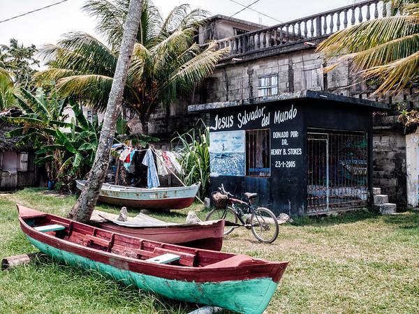 Garifuna community in Livingston, Guatemala
