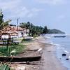 Beach near the town of Livingston, Guatemala.