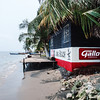 Beach in Livingston, Guatemala
