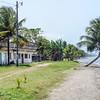 Beach by the Garifuna Community in Livingston, Guatemala