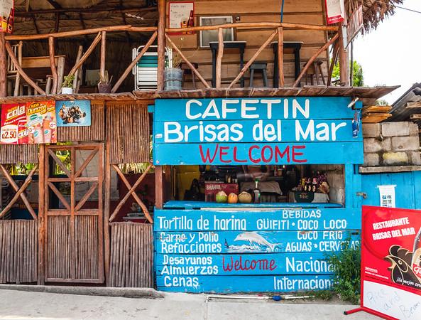 Little shop cerving beverages in Livingston, Guatemala