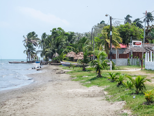 Beach by the Garifuna Community in Livingston, Guatemala