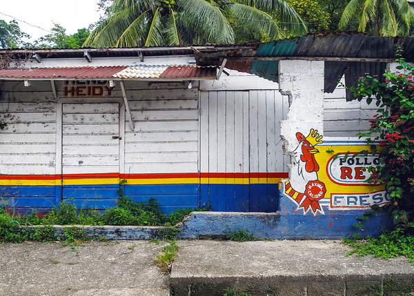 Building in Livingston, Guatemala
