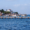 Livingston, a village by the sea in Guatemala